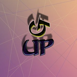 G UP logo